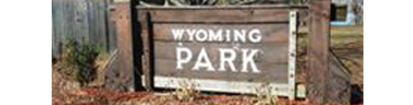 Wyoming Park Sign