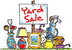 Annual Spring Yard Sale