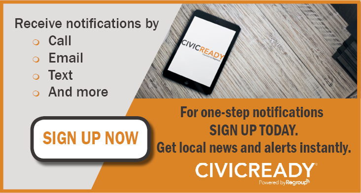 CivicReady Sign Up Graphic