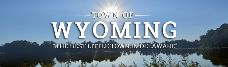 The town of Wyoming, Delaware