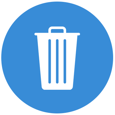 Icon of a Trash Can